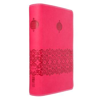 NIV Teen Study Bible Compact, Duo-Tone, Cranberry