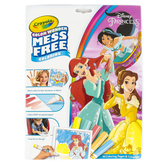 Crayola, Color Wonder Mess Free Disney Princess Coloring Pad and Markers, Ages 3 and up, 23 Pieces