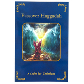 Holy Land Gifts, Passover Haggadah: A Seder for Christians, Laminated Card Stock, 5 3/4 x 8 1/2 inches