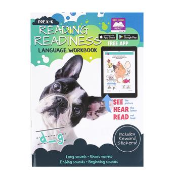 Bendon Publishing, Reading Readiness Language Workbook, Paperback, Grades Pre K-K