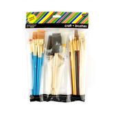 Tree House Studio, Craft Brushes Value Pack, Set of 25