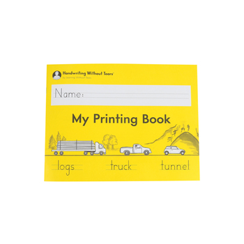 Handwriting Without Tears, My Printing Book Student Lesson Book, Paperback, Grade 1