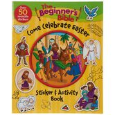 The Beginner's Bible Come Celebrate Easter Sticker and Activity Book, by Kelly Pulley