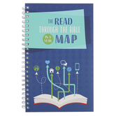 Barbour Books, The Read through the Bible in a Year Map Journal, 8 x 5 Inches, 192 Pages
