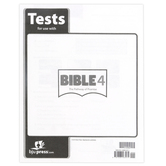 BJU Press, Bible 4 The Pathway of Promise Tests, Paperback, 40 Pages, Grade 4