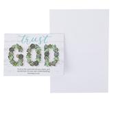 ThreeRoses, Proverbs 3:5 Trust God Encouragement Note Cards & Envelopes, 8 Cards & Envelopes