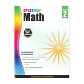 Spectrum, Math Workbook, Paperback, 160 Pages, Grade 2