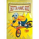 Gotta Have God, 52 Week Devotional for Boys Ages 6-9, by RoseKidz, Paperback