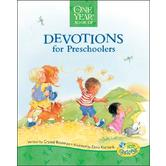 The One Year Book of Devotions for Preschoolers, by Crystal Bowman and Elena Kucharik