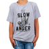 NOTW, James 1:19 Be Slow To Anger, Kid's Short Sleeve T-shirt, Heather Gray, X-Small
