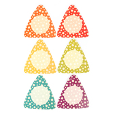 Woodland Tails Collection, Patterned Large Cutouts, Multi-Colored, 6 x 9 Inches, 36 Pieces