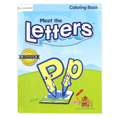 Preschool Prep Company, Meet the Letters Coloring Book, 56 Pages, Grades PreK-1