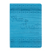 SoulScripts, Free in Christ, Glossy Flexcover Journal, Bright Blue, 400 pages