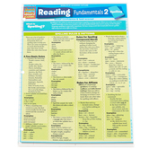 BarCharts Inc, Reading Fundamentals 2 Spelling, Quick Study Academic Guide, Grades 6-Adult