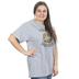Kerusso, Teach Love Inspire, Women's Short Sleeve T-shirt, Athletic Heather, Small
