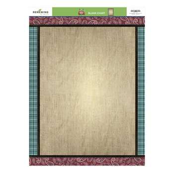Goin' West Collection, Customizable Blank Chart, 17 x 22 Inches, Multi-Colored, 1 Piece