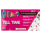 Learning Advantage, Quizmo Tell Time Bingo, Ages 6-9