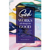 Salt & Light, God Works All Things For Good Church Bulletins, 8 1/2 x 11 inches Flat, 100 Count