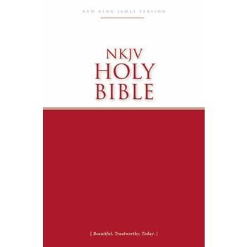 NKJV Economy Outreach Bible, Case of 40