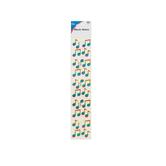 Carson Dellosa, Music Notes Dazzle Stickers, 1 x 1 Inch, Multi-Colored, Pack of 105
