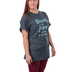 Red Letter 9, Blessed By Jesus Spoiled By My Husband, Women's Short Sleeve T-Shirt, Heather Gray, Small