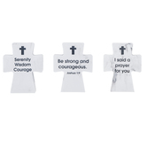 Ganz, Cross Figurines, Assortment, 3 1/2 x 2 3/4 Inches