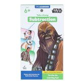 Carson Dellosa, My Take-Along Tablet Star Wars Subtraction Activity Pad, Grades 1-3, 64 Pages, Ages 6-9