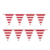 Bright Ideas, Striped Pennant Banner, Multiple Colors Available, 82 inches