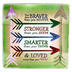 Abbey and CA Gift, You Are Braver, Stronger, Smarter, Loved Plaque, Zinc Alloy, Green, 3 1/2 x 3 1/2   inches