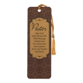 Dicksons, 1 Thessalonians Tasseled Bookmark for Pastor, Brown, 2 x 6 inches