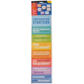 Creative Teaching Press, Math Talk Mini Bulletin Board Set, 34 Pieces