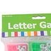Fun Express, Letter Games, 1-7/8 Inches, Multi-Colored, Package of 6, Ages 6 and older