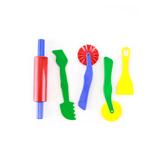 Chenille Kraft, Dough Tools, 1 Each of 5 Unique Tools