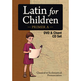 Classical Academic Press, Latin For Children Primer A DVD Video and Audio Chant CD Set, Grades 4-7