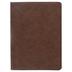 CSB Single-Column Wide-Margin Bible, Imitation Leather, Brown