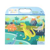 Stephen Joseph, Dinosaur Magnetic Play Set, Pack of 44