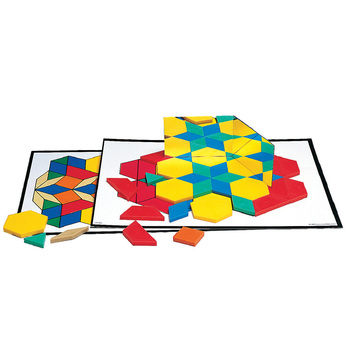 Intermediate Pattern Block Design Cards