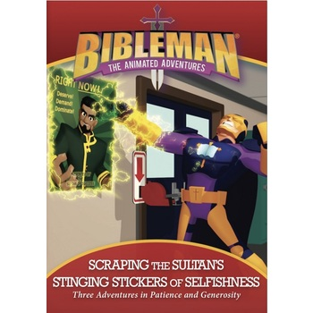 Bibleman, Scrapping the Sultan's Stinging Stickers of Selfishness, DVD