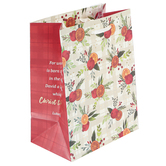 Renewing Faith, Luke 2:11 Christ The Lord Small Gift Bag, 8 1/2 x 6 1/2 x 4 inches