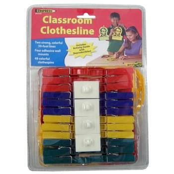 Classroom Clothesline