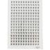 the Paper Studio, Block Print Calendar Date Stickers, 372 Stickers