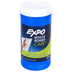 Expo White Board Care Dry Erase Cleaning Wet Wipes, 50 Sheets