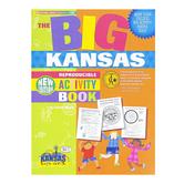 Gallopade, The BIG Kansas Reproducible Activity Book, Paperback, 96 Pages, Grades 2-8