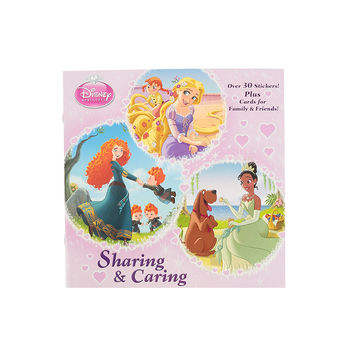 Sharing & Caring, Disney Princess, by Courtney Carbone, Andrea Cagol, and Fabio Laguna, Paperback