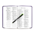 ESV Value Thinline Bible, Large Print, TruTone, Lavender, Filigree Design