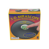 Toysmith, 3-D Mirascope, 6 Inches, Black, 3 Pieces, Ages 8 and up