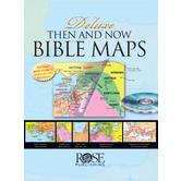Then & Now Bible Maps: Deluxe Edition with CD-ROM, by Rose Publishing