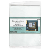Imagination Station, Magnetic Dry Erase Sheet, White, 8 1/2 x 11 Inches