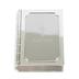 Roman, Inc., Baptism Bible Keepsake Box, Zinc Alloy, Silver, 3 1/2 x 2 3/4 x 1 inches