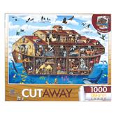 MasterPieces, EZ-Grip Cut-Aways Noah's Ark Jigsaw Puzzle, 1000 Pieces, 34 x 23 1/2 inches